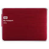 WD My Passport Ultra 500GB USB3.0 [WDBPGC5000ARD-PESN] - Red - Hard Disk External 2.5 inch